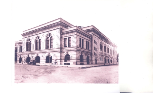 City Auditorium, Picture Taken 1916